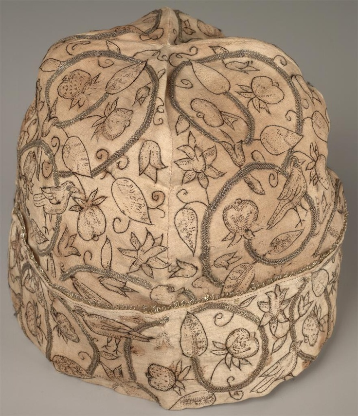 Elizabethan period, 16th century British, Men's cap.