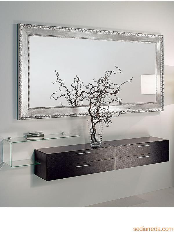 Oltre 25 fantastiche idee su specchio con cornice in legno - Specchi da ingresso ...