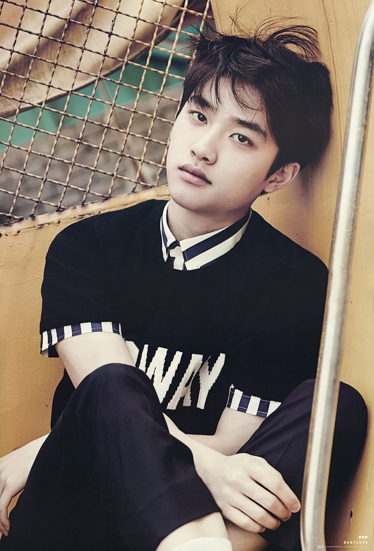 D.O - 150628 'Love Me Right' album contents photo - [SCAN][HQ] Credit: 베이비러브.