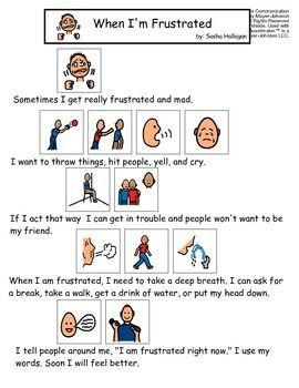 Visual cards for behavior