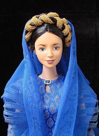 Breha Organa - kostým pro panenku Barbie