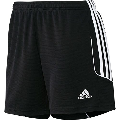 Adidas Soccer Shorts (Black/White)