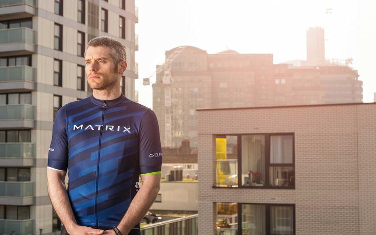 Matrix Men Jersey - Short Sleeve Cycling Jersey by Milltag