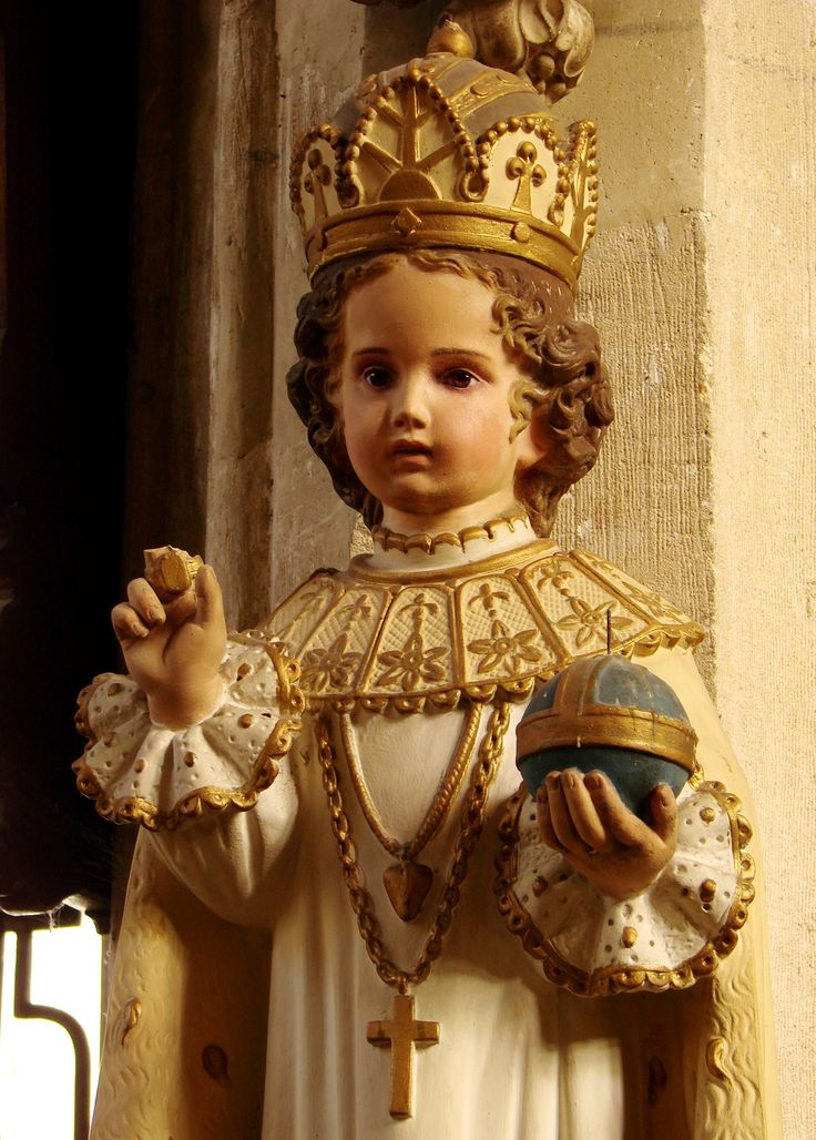 Novena In Urgent Need To The Infant Jesus Of Prague.  To be said for nine consecutive hours or for nine days