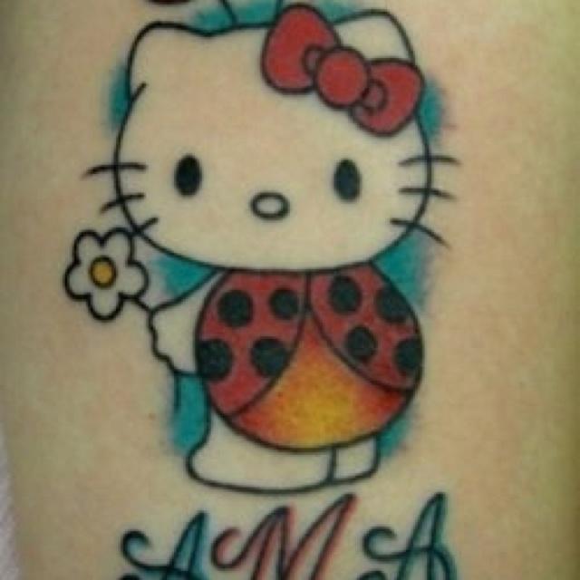 Tribal Hello Kitty: 78 Best Images About Hello Kitty Tattoo On Pinterest
