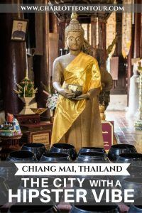 Chiang Mai, Thailand is like a smaller but more peaceful and green Bangkok! A charming with a hipster vibe city, more cleaner, cheaper and with a lot of things to do!