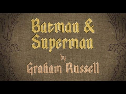 """Funny VIDEO:  Bored Shorts TV - Kid Masterpieces: """"BATMAN & SUPERMAN"""" by Graham Russell"""