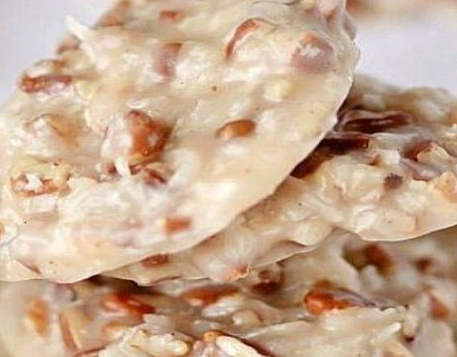"Welcome again to ""Yummy Mommies"" the home of meal receipts & list of dishes, Today i will guide you how to make ""No-Bake Pecan Coconut Praline Cookies"". I made this Delicious recipe a few days"