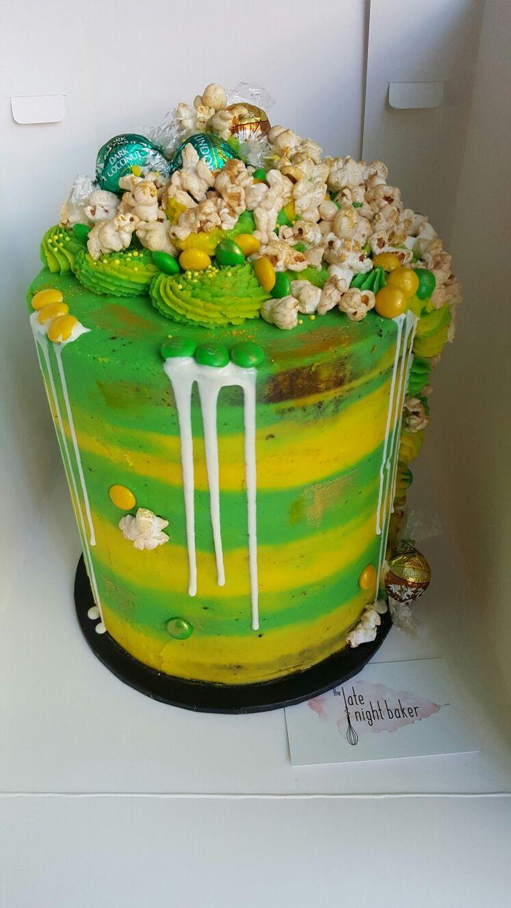 Wallabies themed cake