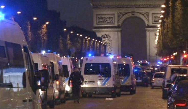 Attack on Paris police hits three officers, at least one fatally; suspect also killed