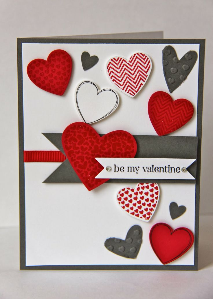 valentine's day simple card ideas