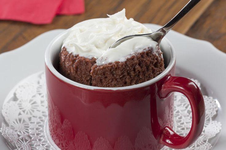 Red Velvet Mug Cake   EverydayDiabeticRecipes.com