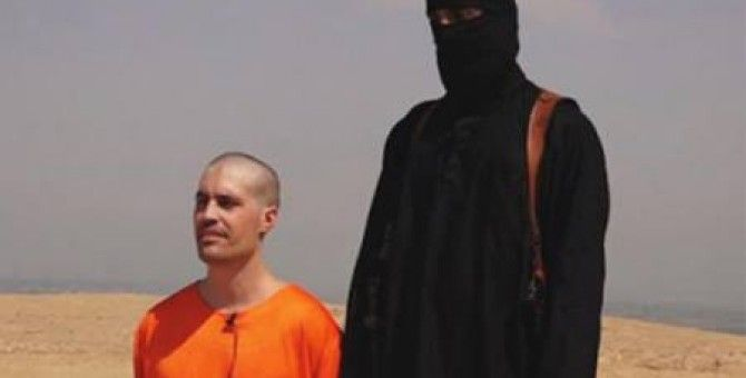 Video of the beheading of journalists uploaded to the internet by ISIS