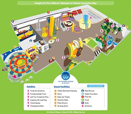 Best Museum Maps Images On Pinterest Maps Cards And Central Hall - Interactive map for children