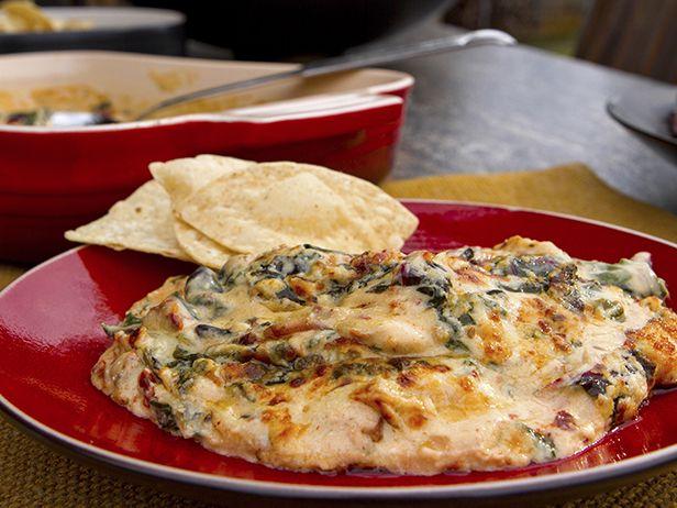 Dip Picante de Alcachofa y Acelga Suiza - Recetas | Food Network