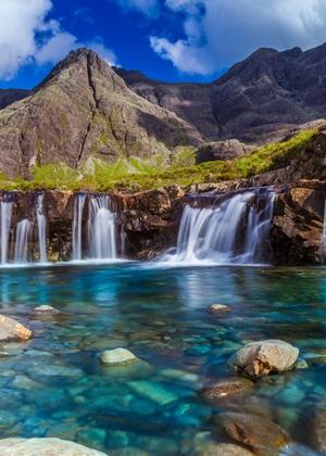 Skye, na Escócia.