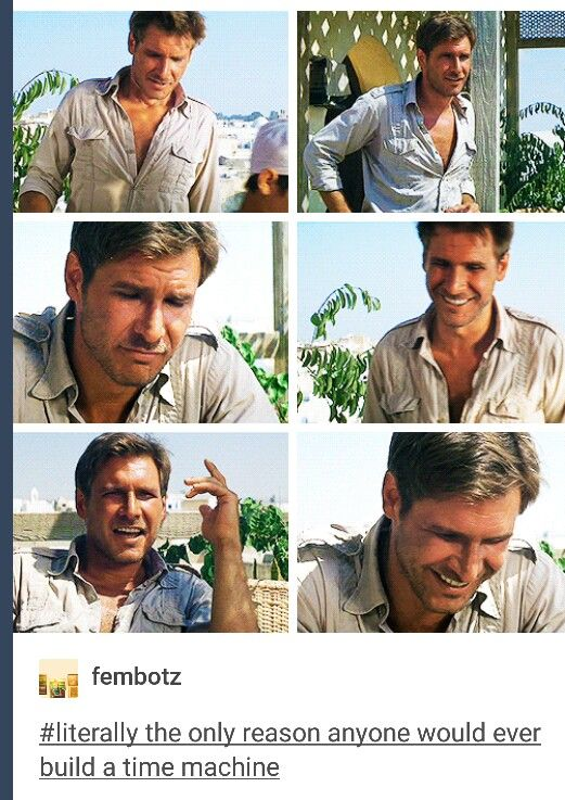 Harrison Ford though