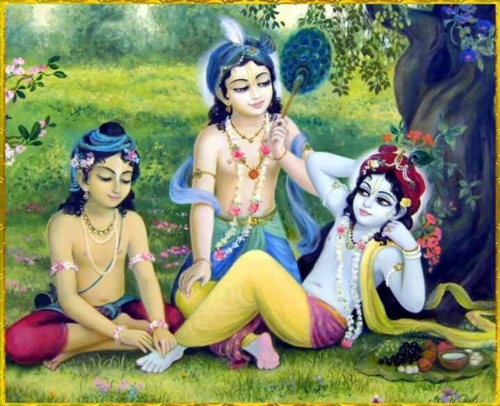Image result for krishna sakha