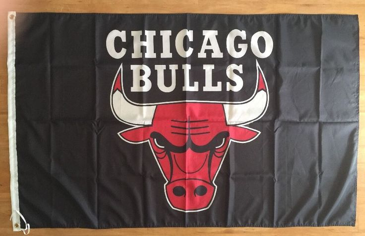 NBA Chicago Bulls Basketball 3X5 Banner Flag Man Cave Gift FREE SHIPPING #ChicagoBulls