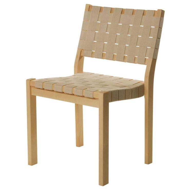611 stol, sadelgjord natur i gruppen Möbler / Stolar & Pallar / Stolar hos RUM21.se (107447)