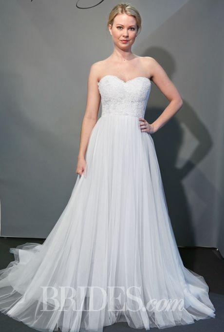 Olia Zavozina Wedding Dresses Spring 2015 Bridal Runway Shows Brides.com | Wedding Dresses Style | Brides.com