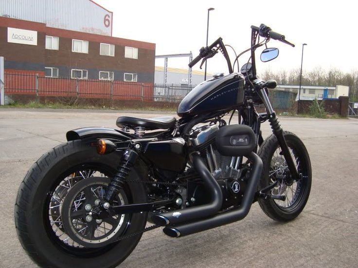 Nightster - This is the bike I want. Right now. #harleydavidsonsportsternightster