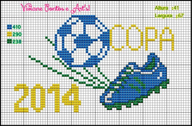 Viviane Pontos e Art's: Gráficos para copa 2014
