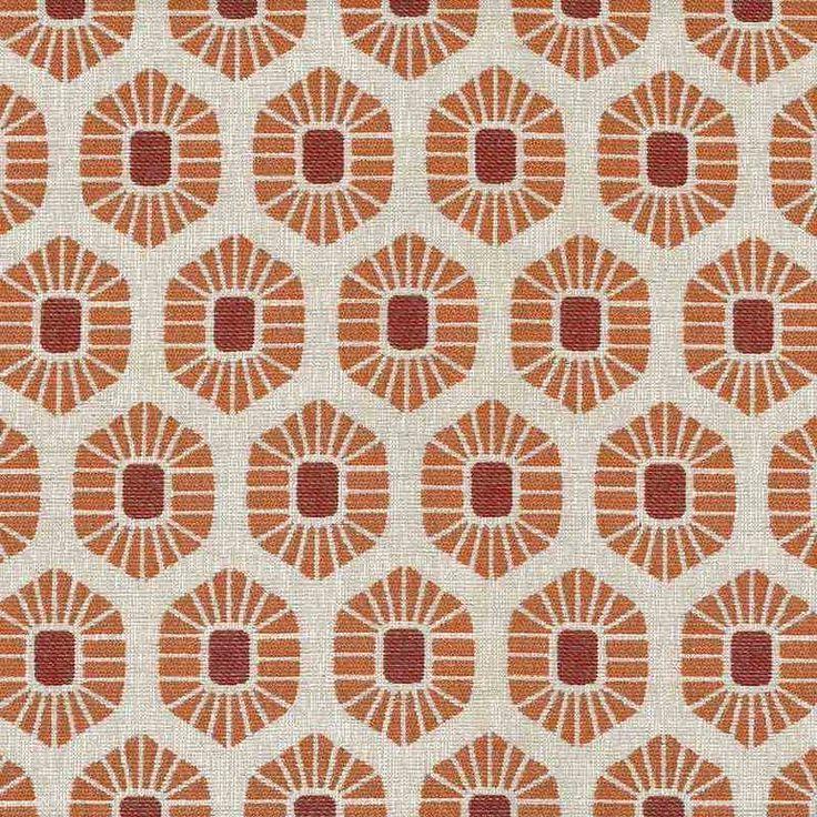 Warwick Fabrics : ASHANTI, Colour SPICE