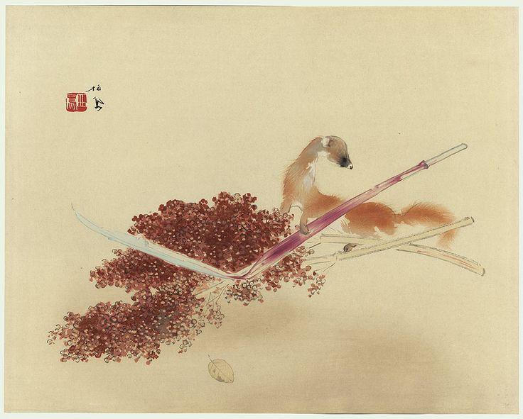The Pleasantness of Autumn by Takeuchi Seiho (1864 - 1942)