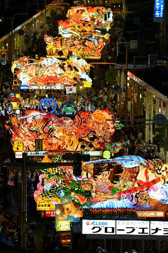 Nebuta Matsuri, traditional summer festival in Aomori, Japan.
