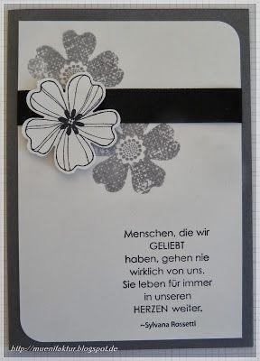 Katrin M. - Trauerkarte #scrapbooktreff