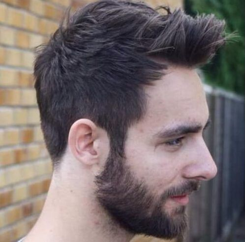 Pulled To The Front And Unicorn Quiff Hairstyles For Men With