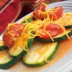 Zucchini vapeur à la mexicaine