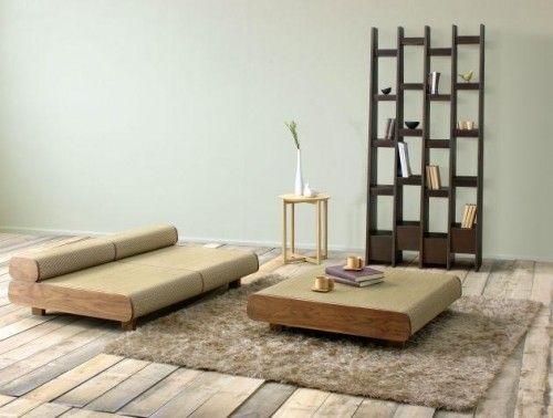 Die besten 25+ Japanese sofa Ideen auf Pinterest Japanisches - ausgefallene designer schaukel zum aufhangen lionel doyen