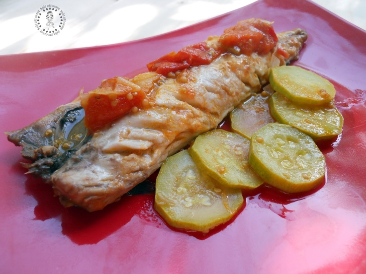 Filetto di sgombro con le zucchine    http://roberta-la-mia-cucina.blogspot.it/2013/03/filetto-di-sgombro-con-le-zucchine.html#