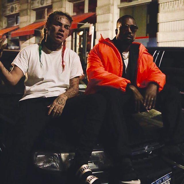 Kanye West X 6ix9ine Chicago Rapper Kanyewest Links Up With Newyork S Tekashi 6ix9ine To Hit The Studio And Work On New Kanye West Kanye West Style Kanye