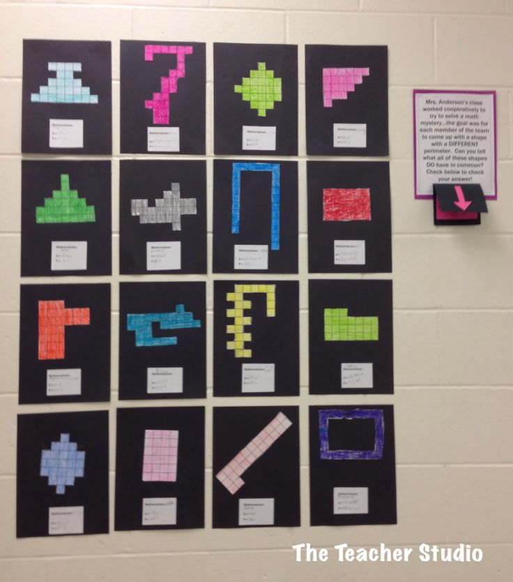 One of the projects we did to work on area and perimeter concepts--and our math discourse and cooperation!