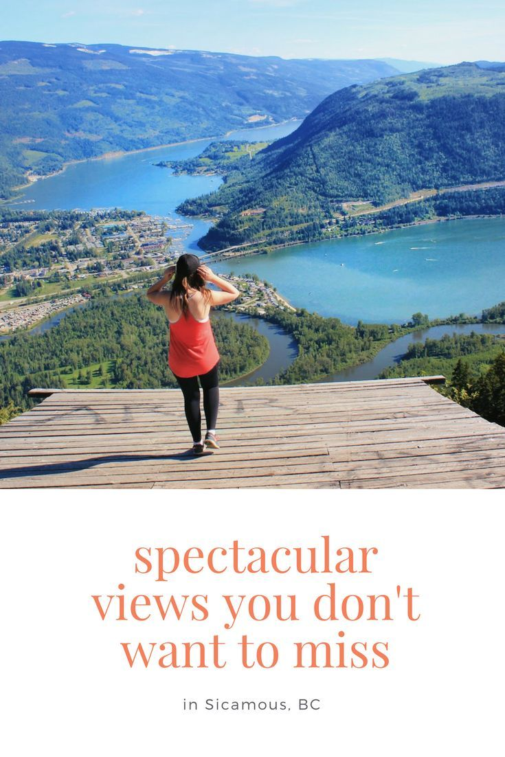 The Sicamous Lookout offers spectacular views of Sicamous, Shuswap Lake, and Mara Lake. This is perfect for an afternoon adventure for everyone. Enjoy a short back road drive before finding the panoramic views of the North Okanagan-Shuswap. This is a perfect stop for an afternoon adventure or road trip. via @explorethemap