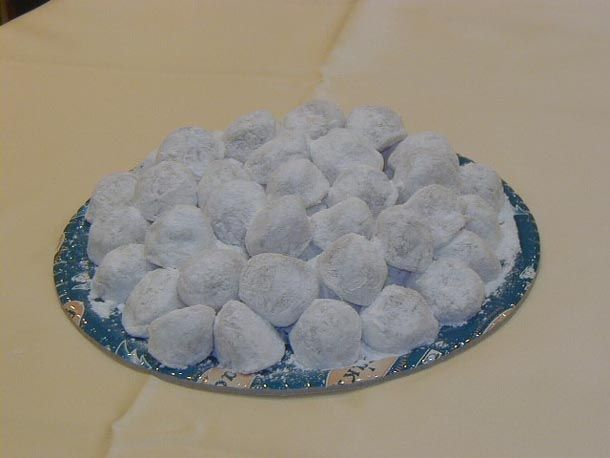 Akanes is the traditional sweet of Serres