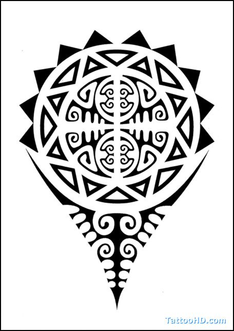 Polynesian Symbols Meanings | Polynesian Tattoo Meanings Tattoos 456x644px Football Picture