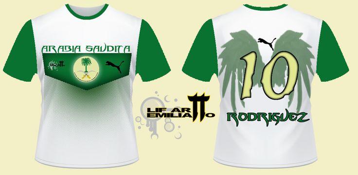 Camiseta Arabia Diseño exclusivo de @LifArtEmilianitto