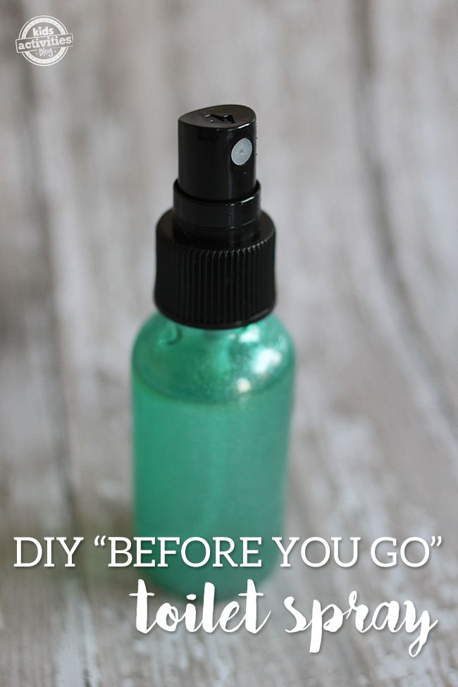 Make Your Own Before You Go Toilet Spray Toilet Sprays And Oil