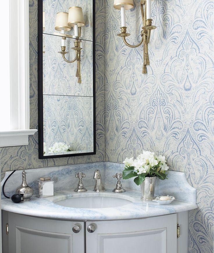 25 best ideas about corner sink bathroom on pinterest for Tight space bathroom designs