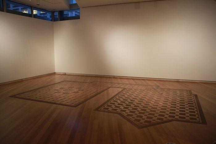 Igor Eskinja, Untitled (MAD caroet), polvere, MAD, New York, 2012,