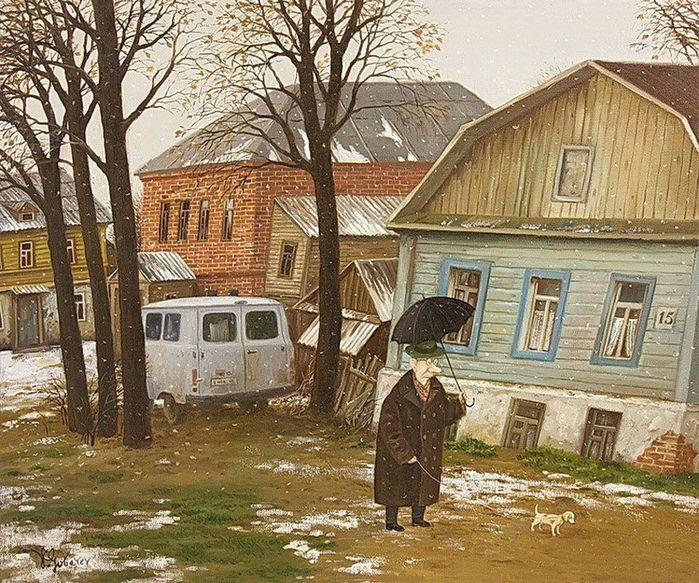 by Valentin Gubarev (b1948 In Nizhny Novgorod)