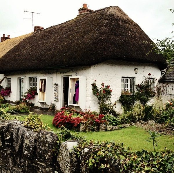 Thatched cottage in Adare village - about 25 mins. drive from our store in the centre of Limerick city.