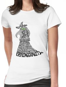 WICKED Musical Elphaba Womens Fitted T-Shirt