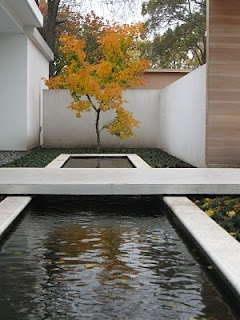 entrance and water