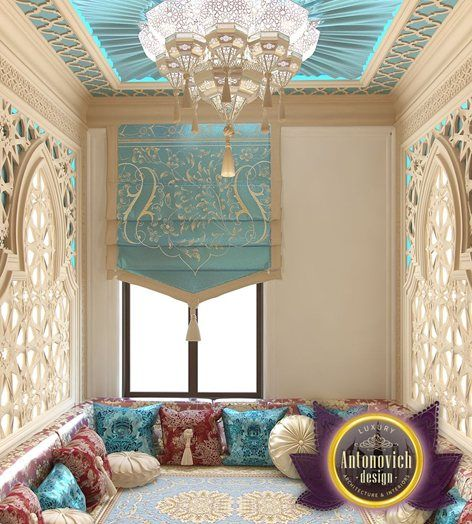 Arabic style in the interior is the perfect way to create - Decor oriental design interieur luxe antonovich ...