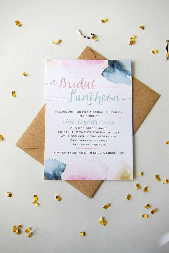 Best 25+ Bridal luncheon invitations ideas on Pinterest - lunch invitation templates
